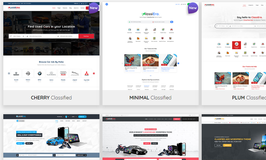CLASSIERA – THE BIGGEST IN THE WORLD: Classified Ads WordPress Theme you should know about!