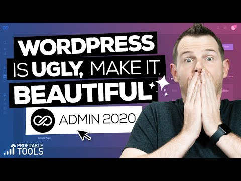 WordPress Is Ugly | Admin 2020 Demo