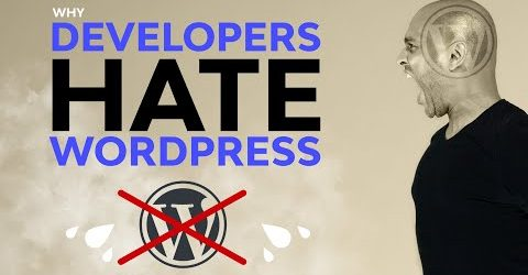Developers Hate WordPress