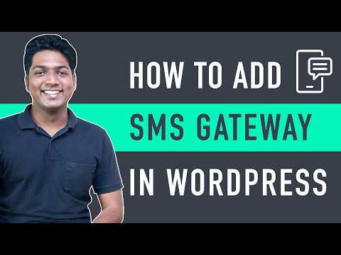How to Integrate SMS Gateway in WordPress E Commerce Website