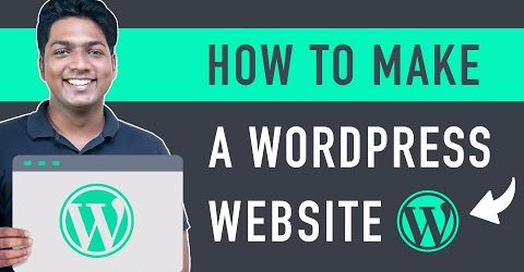 How To Make a WordPress Website (in 25 mins) Simple & Easy