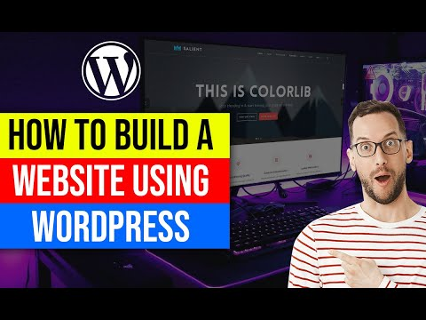 ✅ How to Build a Website Using WordPress | 2021 Tutorial